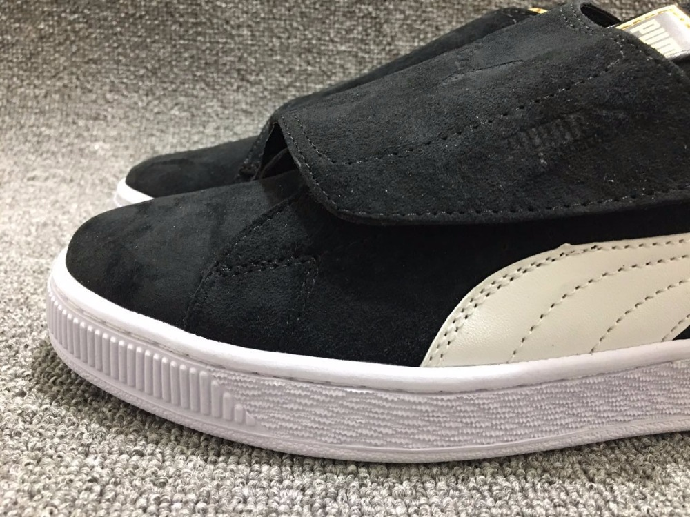 Original PUMA Suede Strap Rihanna Platform Satin EP Mens Womens Magic tape Sneakers size36-44