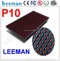 Leeman semi outdoor P10 red led board --- P10 SMD RGB led soft video screen / led flexible video wall display panel