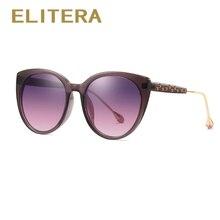 ELITERA Sunglass del ojo de gato marca de diseño polarizado gafas de sol  para mujer Lady gafas de sol mujer gafas de moda 40ec12134cf3