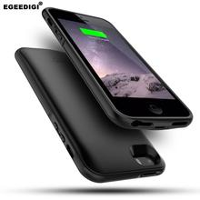 Egeedigi Magnetic Battery Charger Case For iPhone 5 5S SE 6 7+ 8P 4000mAh Power Bank Charging Full cover X XR Xs Max