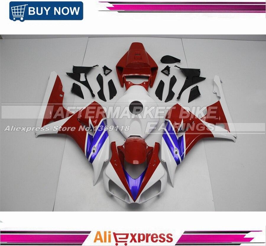 Carénages Sportbike pour Honda CBR1000RR 06 07 1000RR 2006 2007 corps de Kit de carénage de moto en plastique ABS