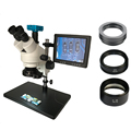 3 5-90X30 Мп HDMI USB HD Тринокулярный Стерео паяльный микроскоп объектив Цифровая камера 8