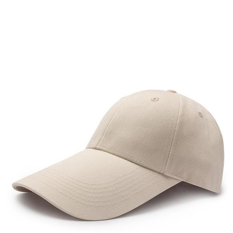 550af46a2743 COKK Baseball Caps Womens Hat Mens Snapback Blank Black Baseball Cap For Women  men Long Wide Brim Sun Visor Sunscreen Casquette-in Baseball Caps from ...