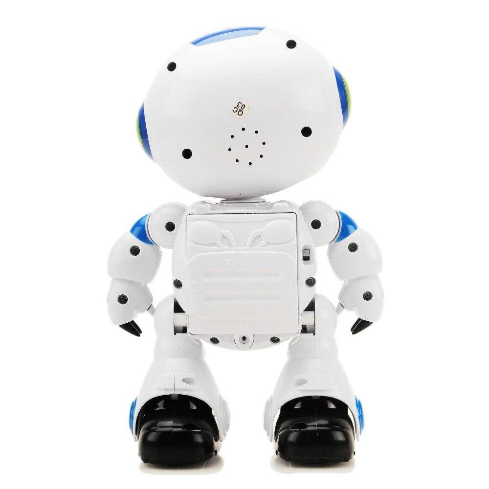 Télécommande Robot noël électronique RC apprentissage enfant en bas âge Intelligent Action danse jouets musique lumières enfants garçons fille