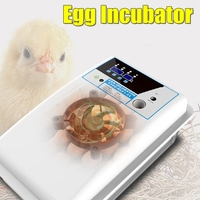 Digital Egg Incubator Automatic Egg Hatcher Automatic Turning Eggs Chicken Birds Quail Brooder Egg Incubator