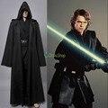 Star Wars Анакин Скайуокер Косплей Костюм На Заказ Jedi Knight Плащ С Капюшоном Одеяние Хэллоуин Костюмы Униформа для Взрослых Мужчин
