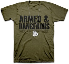 Christian T Shirt Armed & Dangerous