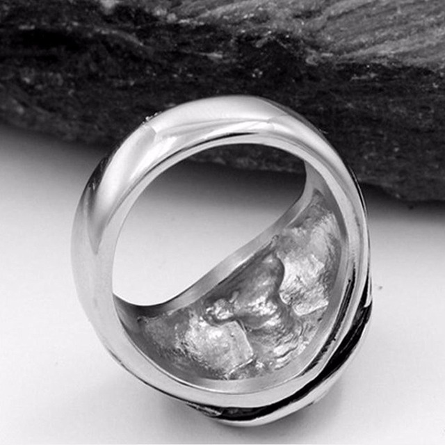 Bague ancre Thor  4