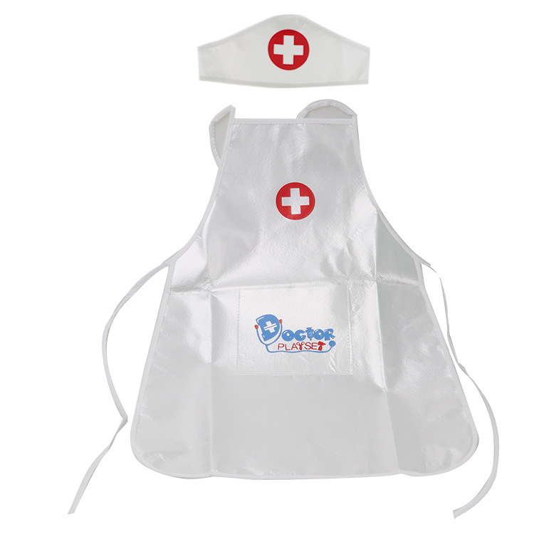 Children Play Role Play Doctor Clothing Toys Pretend Play Doctor Nurse Performing Small Holiday Gift For Baby Kids Toys