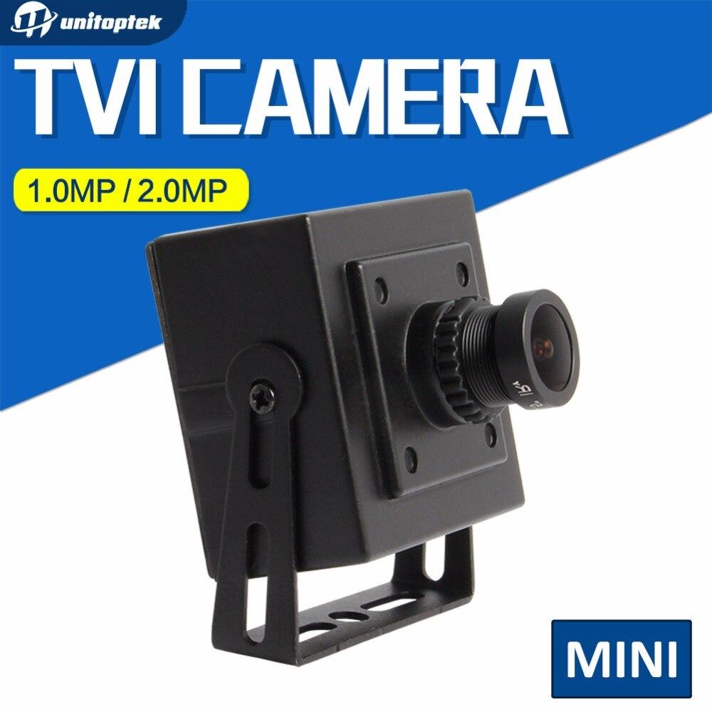 "bilder für Unitoptek hd 1080 p 1/3 ""CMOS 2MP TVI Kamera 720 P Mini Größe 3,6mm Objektiv Cctv 1.0MP HDTVI Kameraarbeit Für TVI DVR"