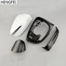 اكسسوارات السيارات Hengfei مرآة أسفل قذيفة غطاء مرآة الإطار لمازدا CX 3 CX 4 CX 5 2015 2019