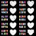 OPHIR Set14 200 Аэрограф Ногтей Трафарет Дизайн 20 Листов Шаблонов Аэрограф Краска Наклейки & Переводные Картинки Для Ногтей Инструменты _ JFH14