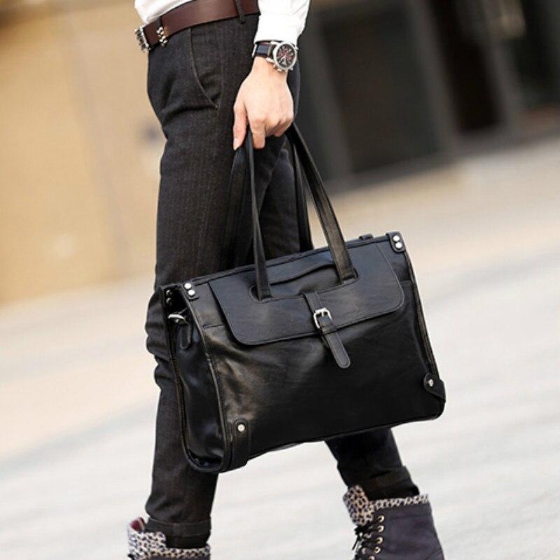 Tidog The New Male Laptop Bag Single Shoulder Bag Business Bag Breifcase