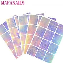 12 Design In 1 Laser Nail Vinyls Hollow Irregular Pattern Stencils For Reusable Manicure Deco Sticker Nail Art Stencil Stickers стоимость