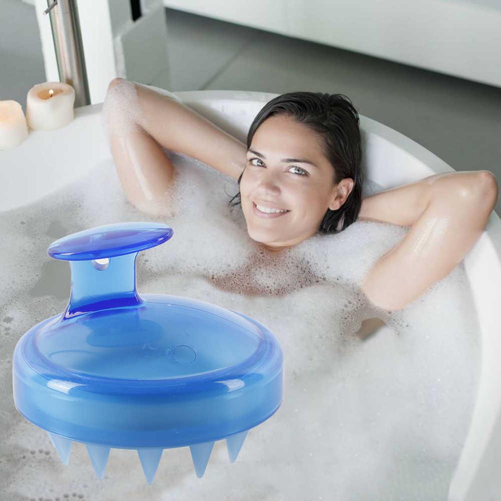 ELECOOL 1 PC ספא הרזיה עיסוי מברשת סיליקון ראש גוף שמפו קרקפת עיסוי מברשת מסרק שיער מסרק כביסה מקלחת אמבטיה מברשת