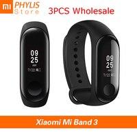3PCS/lot Xiaomi Mi Band 3 Sport Smart Band Fitness Bracelet Smart Wristband Pedometer Heart Rate Touch Screen Xiomi Smartband 3