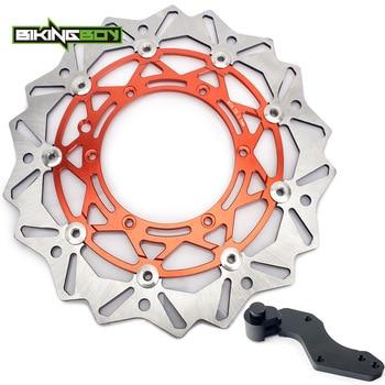 BIKINGBOY 125-640 250 300 350 400 450 525 EXC GS MXC SXC SX XC SXF SXS LC4 SUPERMOTO Front Brake Disc Rotor Disk Bracket 320mm