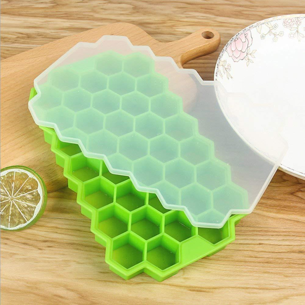 5pcs Small Square Mold Ice Maker Silicone Ice Cube Tray Popsicle Molds Kitchen Freeze Bar Pop Popsicle Maker ice Cream Mold in Ice Cream Makers from Home Garden