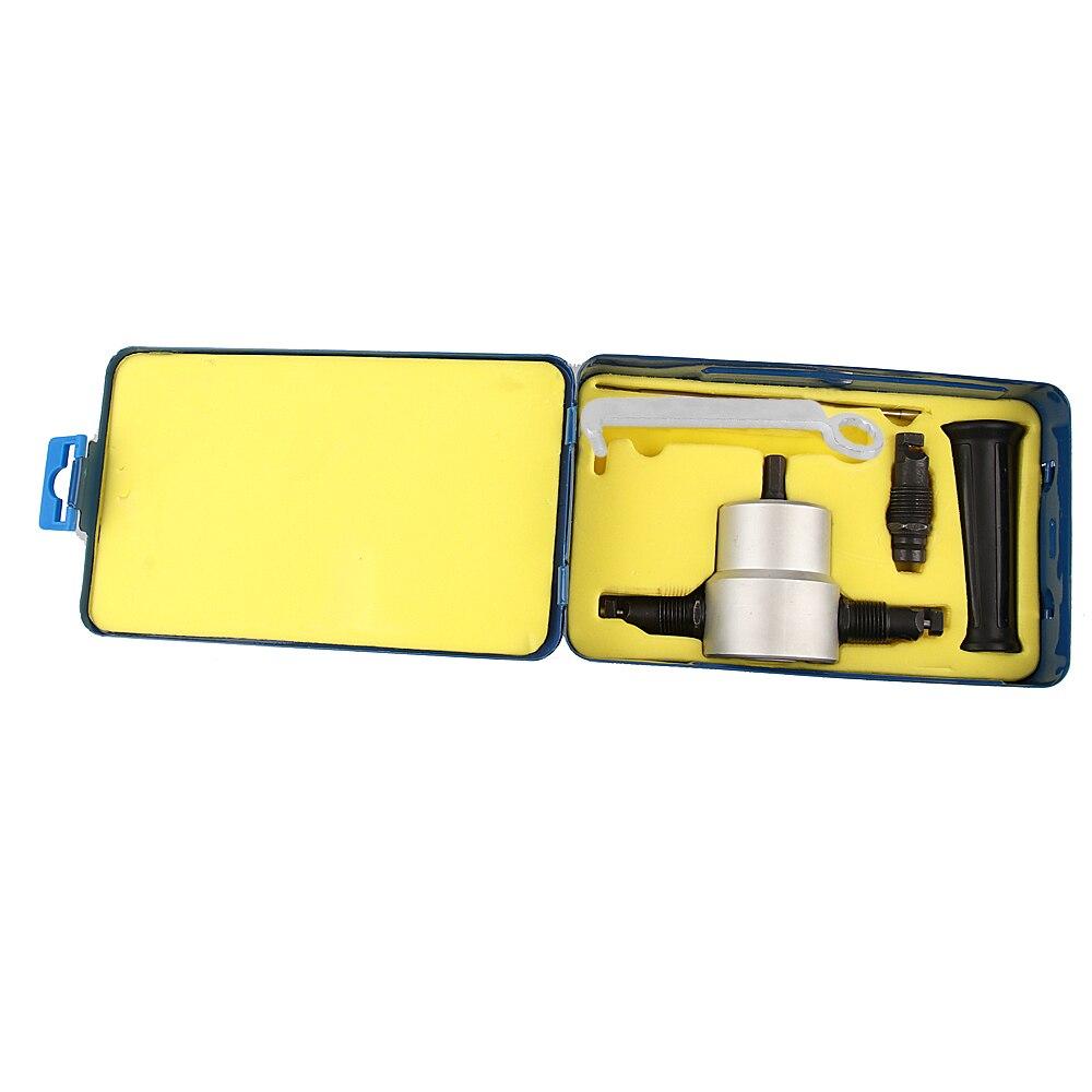 Sgranocchiare Taglio Dei Metalli Doppio Foglio Testa Nibbler Saw Cutter Utensili Da Taglio Set di Strumenti per Trapano Accessori