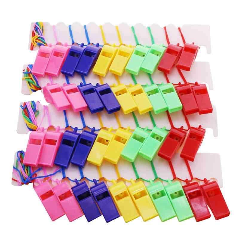 LOLEDE 1 Pcs ใหม่ Prank Joke Toy สีสันตลกนกหวีดเครื่องมือสุ่มเด็กฮาโลวีนเด็ก Gags & Practical Jokes