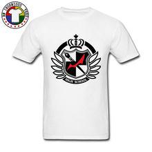 Danganronpa Hope's Peak Academy-camisetas Dangan Ronpa, diseño de logotipo de la escuela secundaria, geniales camisetas estampadas para hombre
