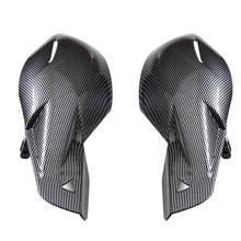 1 пара 22 мм Универсальный руль манжеты рукавицы Мотоцикл углеродного волокна