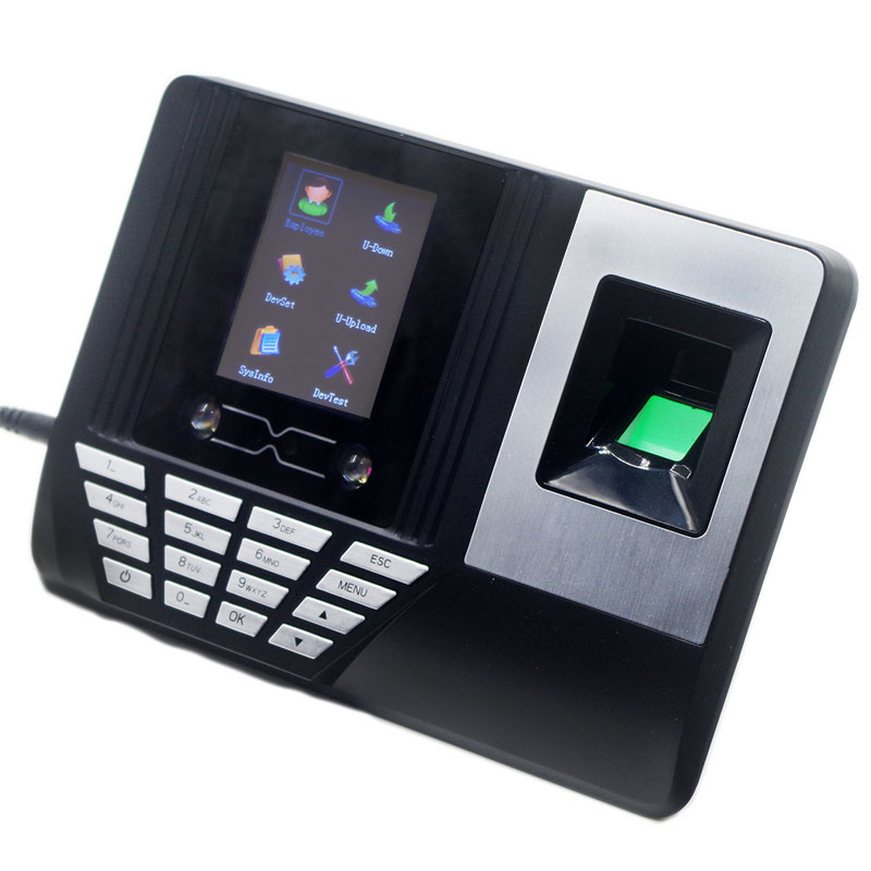 Countertop Placed Time Attendance Terminal Table Attendance Machine No Need Installation Fingerprint Realand