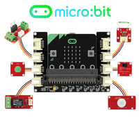 Elecrow BBC Micro Bit STEM Starter Kit Learn Programming For Kids Beginners 20 Lessons Computer Electronic
