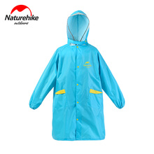 Naturehike Children Outdoor Raincoat Camping Backpack conjoined raincoat Student With Cover NH16D001-M