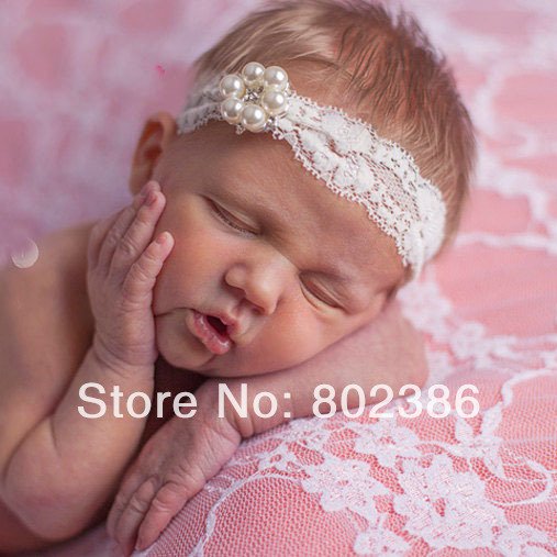 Free Shipping Ivory Lace Rhinestone Headband Kids accesorries-in Hair  Accessories from Mother   Kids on Aliexpress.com  bc9e3120351
