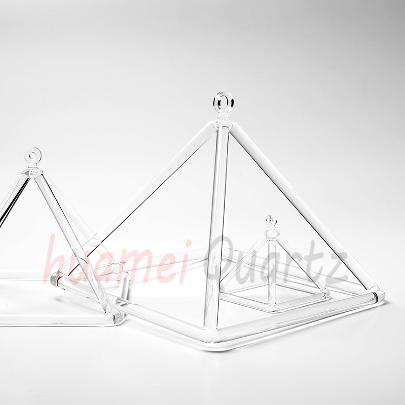 clear quartz pyramid 4inch and 10 inche quartz clear crystal pyramid for healing цены онлайн