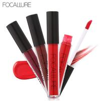 FOCALLURE Liquid Lipstick Sexy Colors Lip Paint Matte Lipstick Nutritious Waterproof Long Lasting Lip Gloss Lip