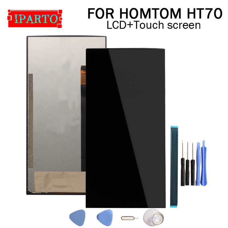 6 0 inch HOMTOM HT70 LCD Display Touch Screen Digitizer Assembly 100 Original New LCD Touch