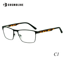 Cosmoline Brand New Round Glass Frame for Men Men's Metal Eyeglasses Frames Myopia Eyewear Brillengestell Optical Frame 473