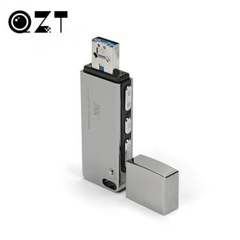 Zinc Alloy USB Flash Drive Voice Activated Recorder Mini Dictaphone Professional Audio Recorders U Disk Digital Sound Recording