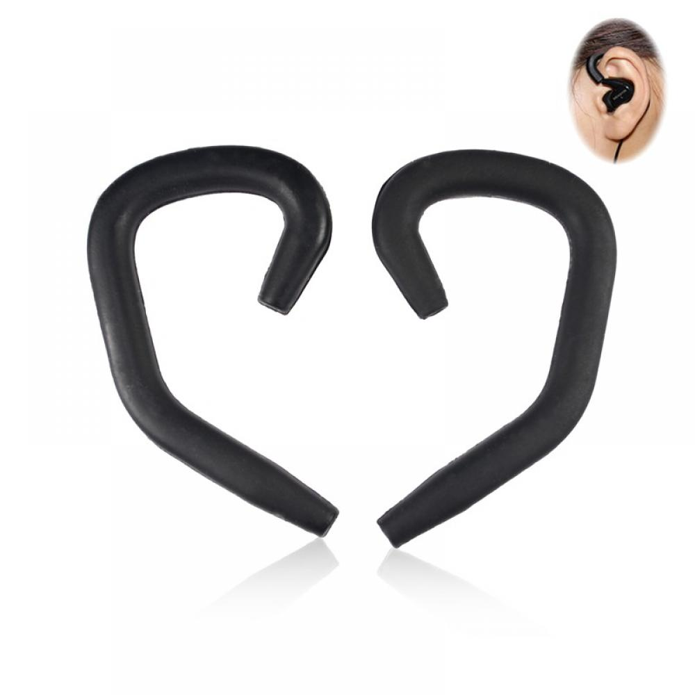 цена на 1 Pair Earhooks Set for Most Earphones Headphones Headset Silicone EarLoop Hook Ear hanger ear hook Hot Sale