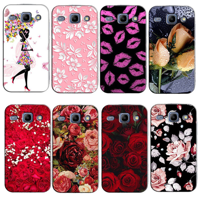 Phone Case for fundas Samsung Galaxy J1 2015 Cover Case for coque Samsung J1 Case J1 J100 J100F J100H 4.3 200 kinds of designs