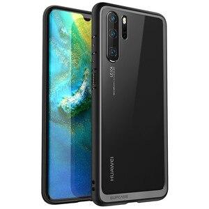"""Image 2 - Funda protectora híbrida para Huawei P30 Pro, 6,47 """"(2019 Release), estilo UB, antigolpes, TPU, PC, transparente"""