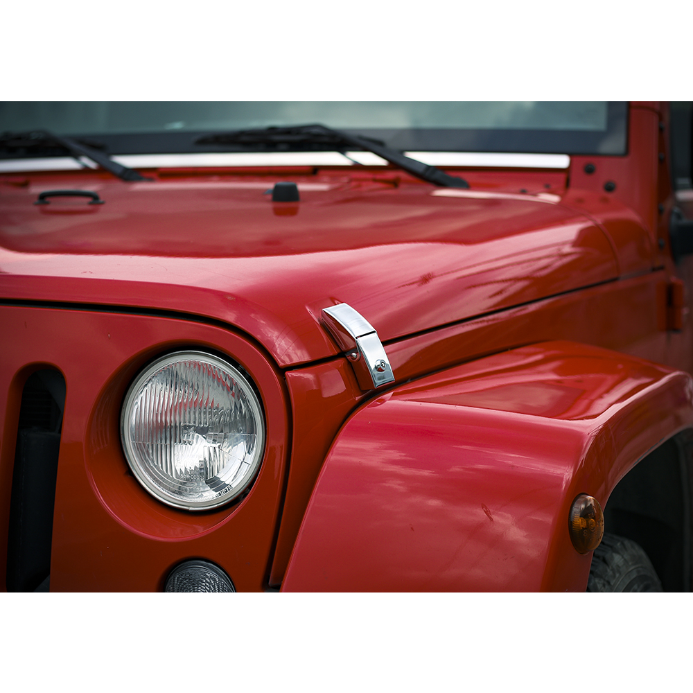 2013 Jeep Wrangler Hood Lock Release For Wrangker Latch With Key Engine Cover 1000x1000