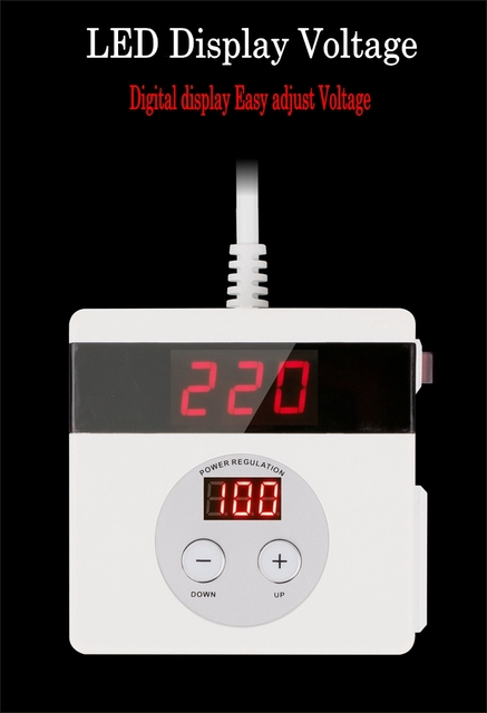 AC 220V 4000W SCR Electronic Voltage Regulator Temperature Speed Adjust Controller Dimming Thermostat regulated power supply