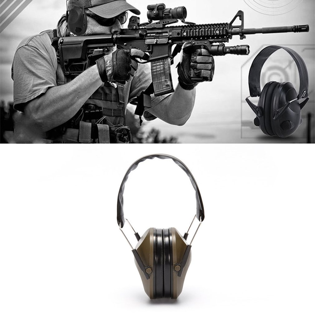 Tactical Force Headset Noise Reduction Foldable Hunting Shooting Headphone Anti-noise Earmuff Hearing Protector