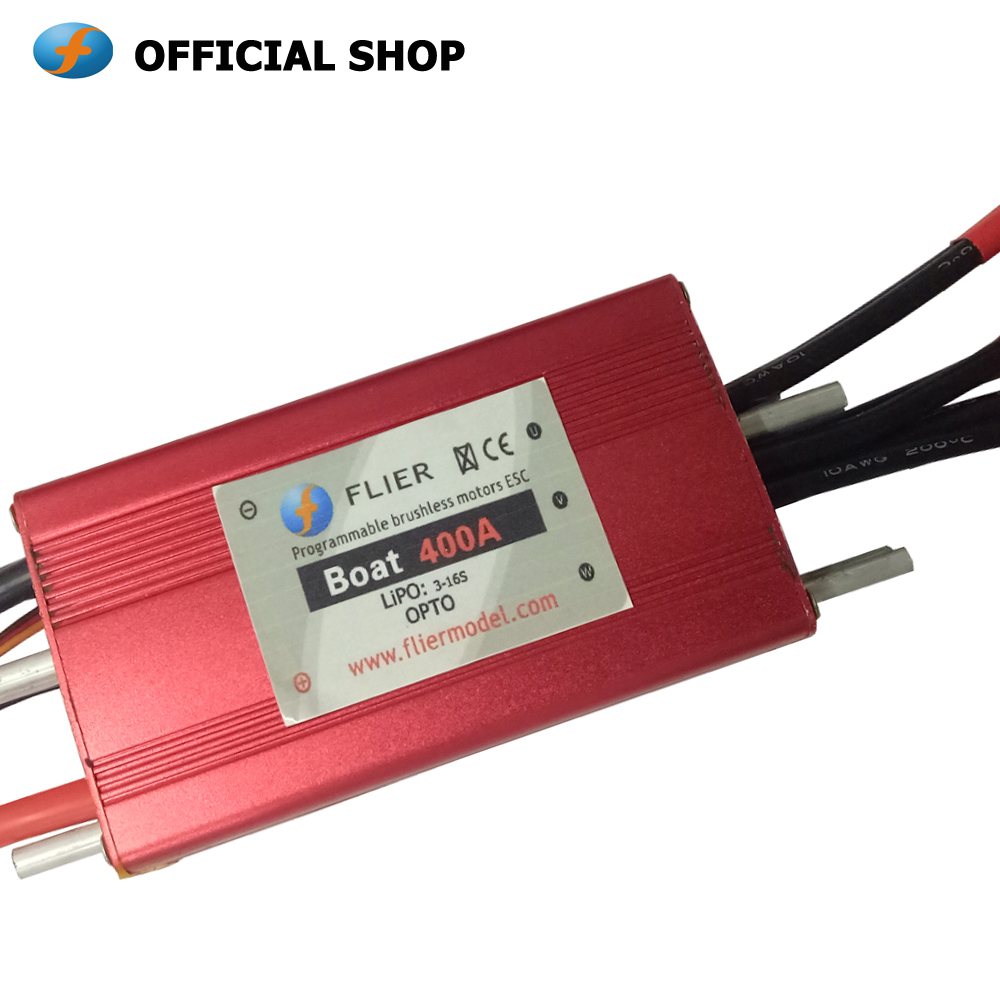 Waterproof brushless ESC 16S 400A for RC boat