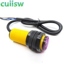 10 TEILE/LOS E18 D80NK Einstellbare Infrarot sensor Schalter 3 80cm Infrarot Sensor Schalter