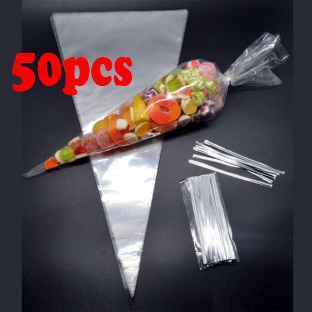 LEVEL 100PCS//Set Dots Wire Metallic Twist Ties for Candy Bag Steel Baking Packaging Ligation Dessert Sealing Twist Tie
