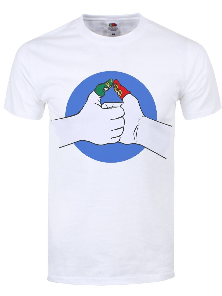 I Predict A Thumb War Mens White T-shirt