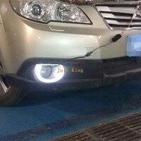 July King светодиодный фонарь дневные ходовые огни DRL чехол для Subaru Outback 2010 ~ 12, светодиодный передний бампер противотуманная фара, замена 1:1