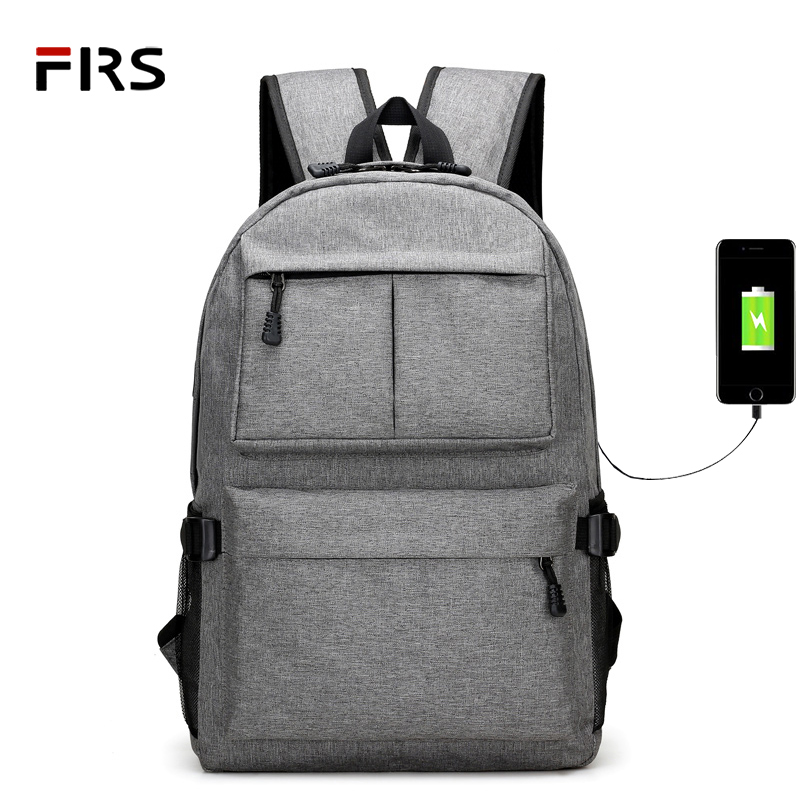 FLRS Men Male Canvas Backpack College Student School Backpack Bags for Teenagers Vintage Mochila Casual Rucksack Travel Daypack цены онлайн