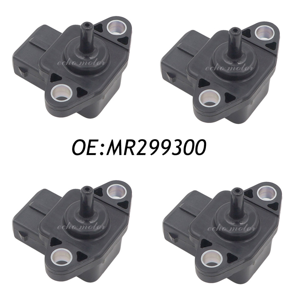 New 4PCS OEM MR299300 MAP SENSOR E for Mitsubishi Pajero Montero Sport L200 SHOGUN PAJERO ms cx2 4 sensor mr li
