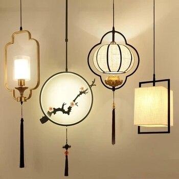 Nuevo candelabro pequeño chino iluminación salón comedor pasillo cama  cabeza restaurante estilo chino Lustres Hanglamp Deco casa >> Shop1022138  Store