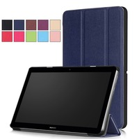 For Huawei MediaPad T3 10 0 9 6 Case Ultra Slim Smart Case 3 Folding Stand
